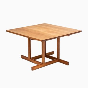 Table Basse Modèle 5217 en Chêne par Børge Mogensen pour Fredericia