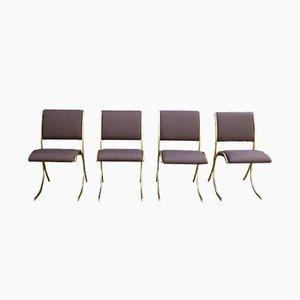 Chaises Vintage de Maison Jansen, 1970s, Set de 4