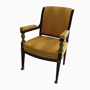 Antique Empire Armchair, 1800s