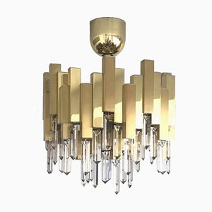 Large Chandelier from Lumica, 1970s