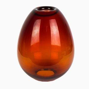 Rote Muranoglasvase oder Kerzenhalter von Beltrami für Made Murano Glass, 2019