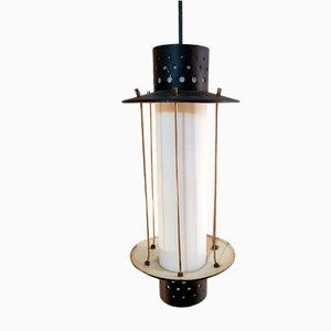 Lámpara colgante Mid-Century de Stilnovo, años 50