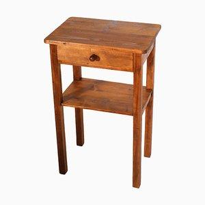 Vintage Nachttisch aus Pinienholz, 1920er