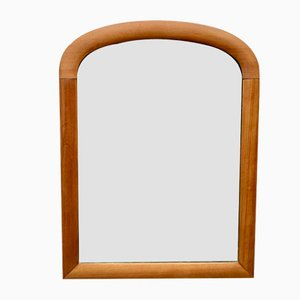 Vintage Small Wall Mirror Wood Frame
