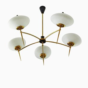 Mid-Century Chandelier from Stilnovo, 1958