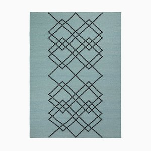 Green Borg 02 Rug by Louise Roe