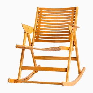 Rex Rocking Chair by Niko Kralj for Impakta Les, 1970s