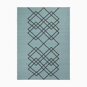 Grüner Borg 03 Teppich von Louise Roe