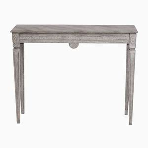 Gustavian Carved Wooden Console Table, 1810s
