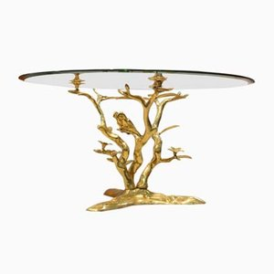 Coffee Table with Birds by Willy Daro, 1970s