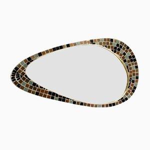 Specchio da parete vintage con mosaico di Knitter Duro