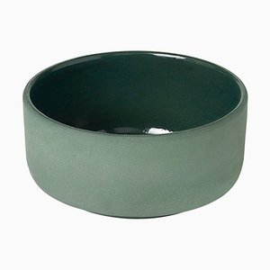 Jade Green Pisu 06 Bowl by Louise Roe