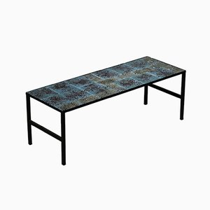 French Ceramic Coffee Table by Serge Jamet, 1960s