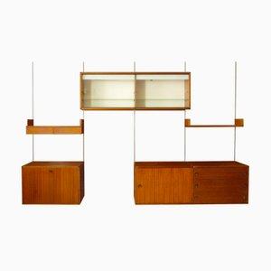 Libreria modulare Mid-Century di Pierre Guariche & ARP per Minvielle