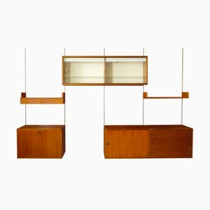 Mid-Century Modular Wall Unit by Pierre Guariche & A.R.P for Minvielle