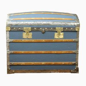 Coffre Antique Bleu de Au Bon Marché