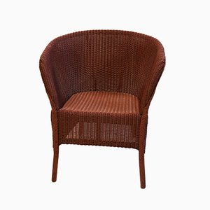 Lloyd Loom Armchair from Lusty and Sons, 1940s