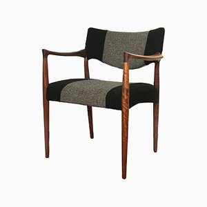 Rosewood Armchair, 1960s
