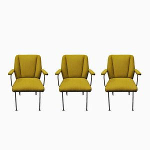 Italian Vintage armchairs, 1950s, Set of 3