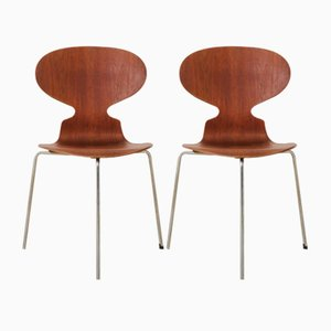 Myran Chairs by Arne Jacobsen for Fritz Hansen, 1950s, Set of 2