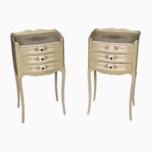 French Bedside Drawers, Set of 2