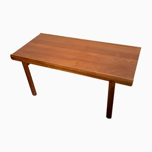 Mid-Century Extending Teak Coffee Table