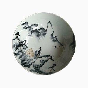Cuenco japonés vintage de cerámica