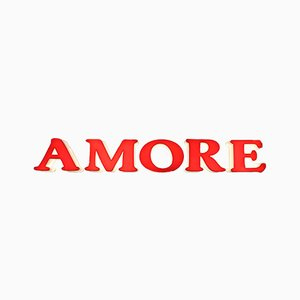 Vintage AMORE Illuminated Sign