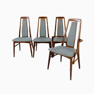 Dänische Esszimmerstühle aus Palisander von Niels Koefoed für Koefoeds Hornslet, 1950er, 4er Set