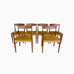 Danish Dining Chairs by Erling Torvits for Sorø Stolefabrik, Set of 6