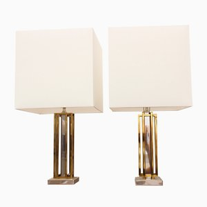Modernist Table Lamps by Willy Daro, 1970s, Set of 2
