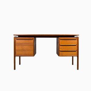 Dänischer Vintage Schreibtisch aus Teak von GV Gasviga für GV Møbler, 1960er