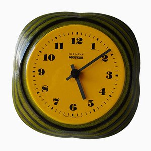 Vintage Ceramic Clock from Kienzle