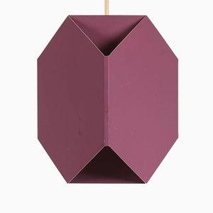 Lampe à Suspension Vintage Violette par Ole Panton pour Lyfa, 1969