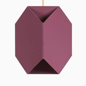 Vintage Purple Pendant Lamp by Ole Panton for Lyfa, 1969