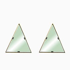 Italian Brass Mirrors by Cellule Creative Studio for Misia Arte, Set of 2