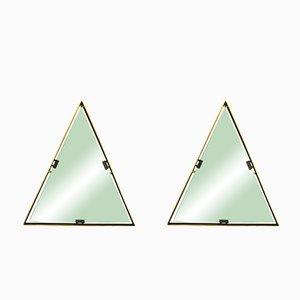 Italienische Spiegel mit Messingrahmen von Cellule Creative Studio für Misia Arte, 2er Set
