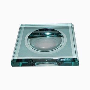 Posacenere Fontana vintage in vetro artistico, anni '60