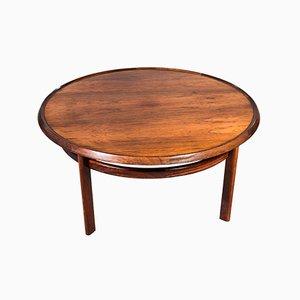 Mid-Century Rosewood Coffee Table by Torbjørn Afdal for Bruksbo
