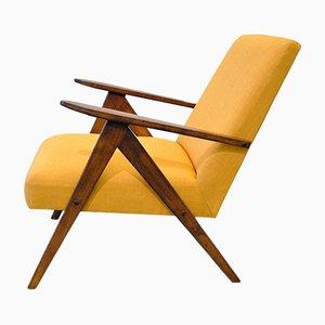 Vintage Modell B-310 VAR Sessel von A. Dutka für Fabryki Mebli Gietych Radomsko, 1950er