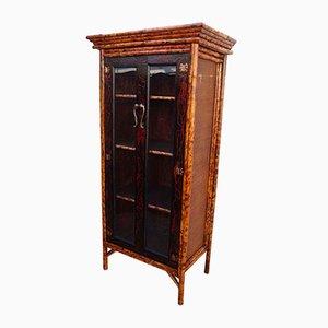 Antique Bamboo Glazed Cabinet