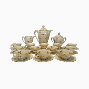 Porcelain Limoges Tea Service, 1960s