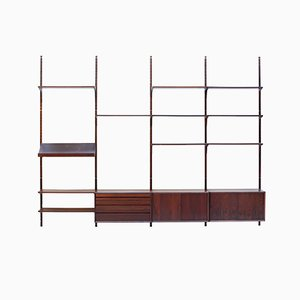 Rosewood Royal Shelving System by Poul Cadovius for Cado, 1960s
