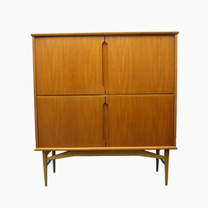Danish Teak Highboard by Borge Mogensen for Fredericia, 1960s