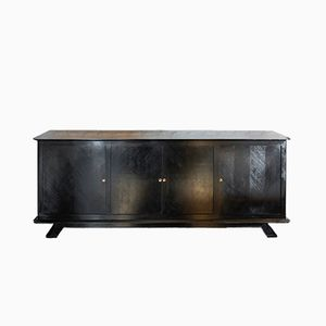 Mid-Century Blackened Oak Sideboard, 1940s