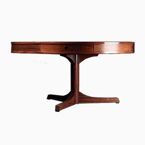 Tavolo rotondo in palissandro di Robert Heritage per Archie Shine, anni '60