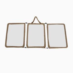 Vintage Triptychon Spiegel