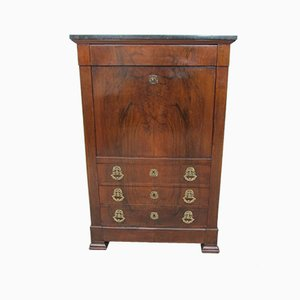 Antique Empire Mahogany Secretary