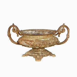 Urna francesa antigua con asas