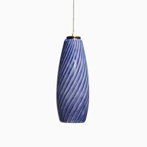 Lámpara colgante Sigaro italiana vintage